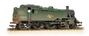Bachmann 31-980 BR Standard 3MT Tank, Plain BR Green, Late Crest, Weathered